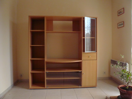 meuble tv biblioth que bourges. Black Bedroom Furniture Sets. Home Design Ideas