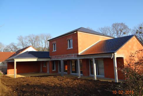 Maisons 2b3d bourges for Constructeur bourges