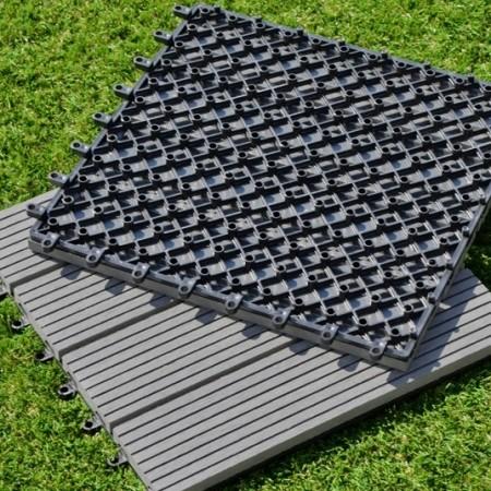 Dalle terrasse composite gris plusieurs tailles disponibles ref 56226 bourges - Dalle composite terrasse ...