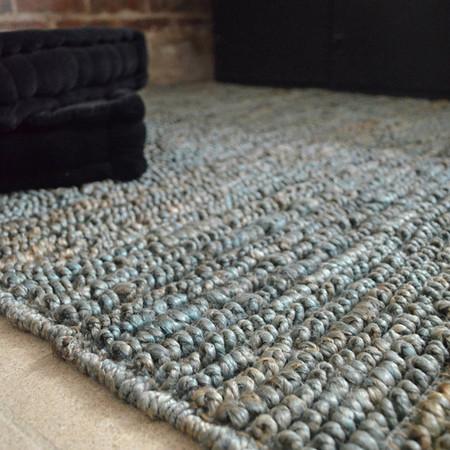 tapis naturel aliz e salon salle manger 100 jute