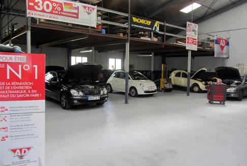 Garage de la chapelle la chapelle saint ursin for Garage ad la chapelle bouexic