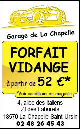 Garage de la Chapelle Bourges