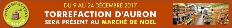 Torrefaction d'Auron - Marché de Noël