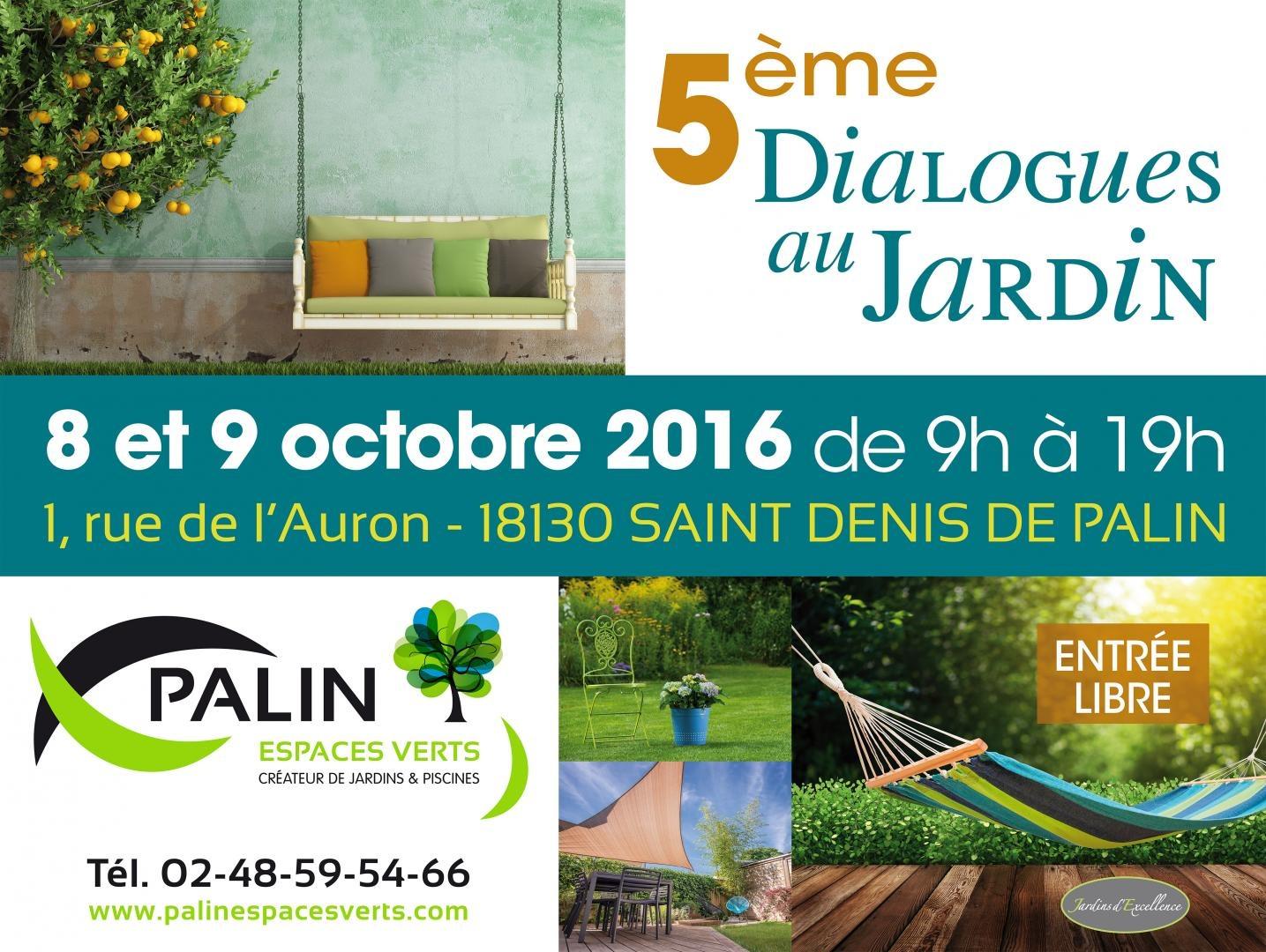 Portes ouvertes chez palin espaces verts cr ateurs de for 9 jardin fatima bedar saint denis