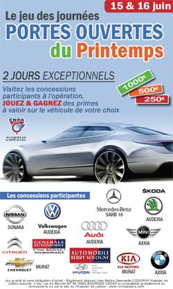Automobiles bourges les journ es portes ouvertes de - Portes ouvertes concessionnaires automobiles ...