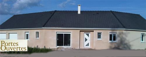 Portes ouvertes de votre constructeur maison laure saint for Porte ouverte constructeur