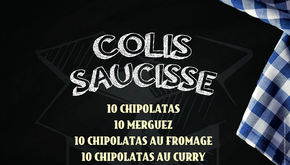 colis saucisse chipolatas nature au fromage au curry. Black Bedroom Furniture Sets. Home Design Ideas
