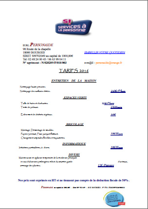 Tarif contrat maintenance informatique annuel