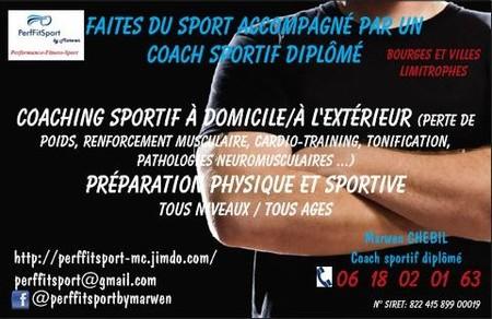 Coaching Sportif Domicile Et Prparation Physique
