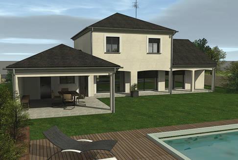 Maisons 2b3d bourges for Constructeur maison contemporaine bourges