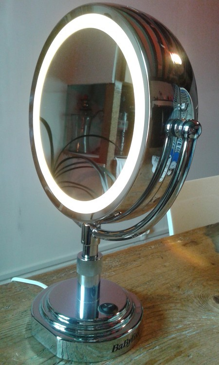 Miroir Double Face Grossissant Babyliss Ref 75794 Bourges