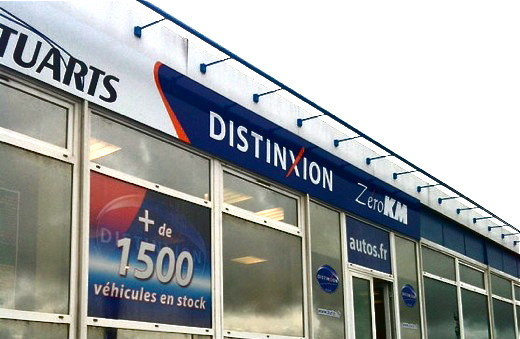 Nouvelle enseigne du GARAGE des STUARTS : DISTINXION Automobile à ...