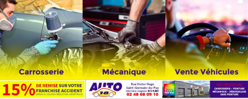 Garage Auto 18 Le Spécialiste Carrosserie Peinture Automobile Et