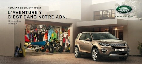 le nouveau discovery sport land rover chez votre concessionnaire webauto saint doulchard 04. Black Bedroom Furniture Sets. Home Design Ideas