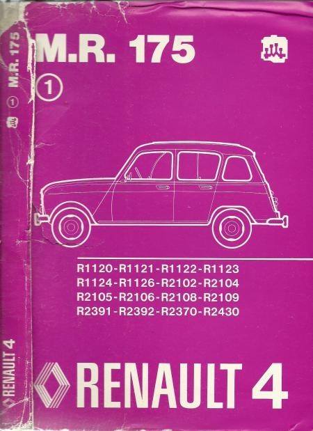 Manuel De R U00e9paration - M R175 - Collection