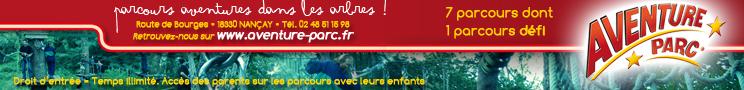 Aventure Parc Bourges 2020