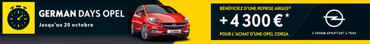 Auto Berry Sologne Opel 2018