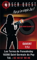 Laser Quest Bourges 2018
