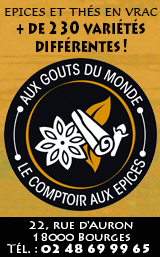 Le Comptoir aux Epices Bourges 2019