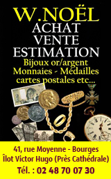 Trés'Or Numismatique Bourges 2019