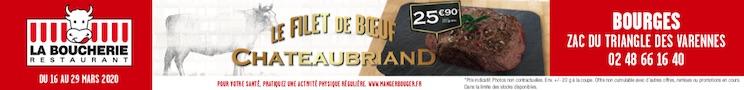 La Boucherie Restaurant Bourges 2020