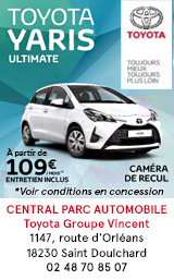 Central Park Automobiles Toyota Groupe Vincent Bourges 2020