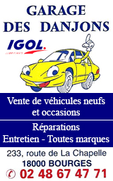 Garage des Danjons Bourges 2020