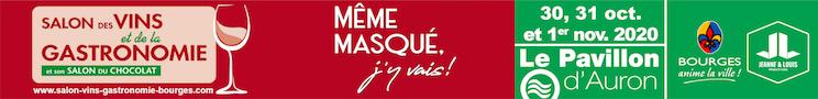 Salon des Vins et de la Gastronomie 2020 Bourges