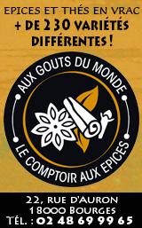 Le Comptoir aux Epices Bourges 2020