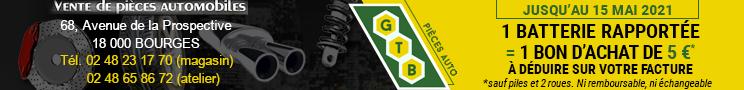 GTB pièces Auto Bourges 2021