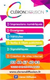 Cléron Diffusion Bourges 2021