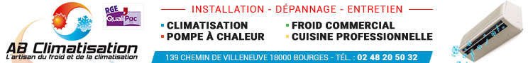 AB Climatisation Bourges 2021