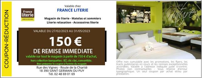 France Literie Saint Germain Du Puy