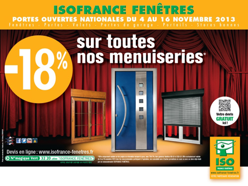 iso france fenetres bourges les menuiseries au meilleur prix 12 11 2013 infoptimum. Black Bedroom Furniture Sets. Home Design Ideas