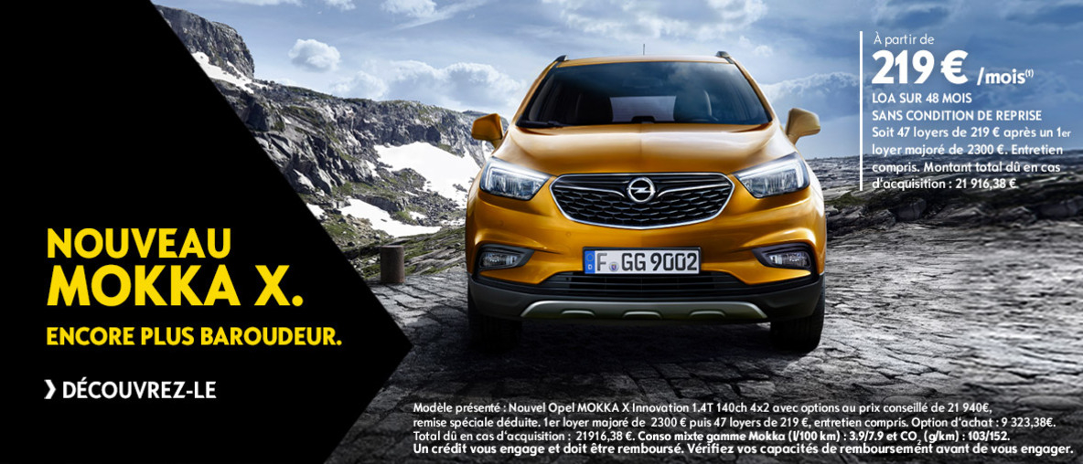 nouveaut opel mokka x d couvrir chez auto berry sologne infoptimum. Black Bedroom Furniture Sets. Home Design Ideas