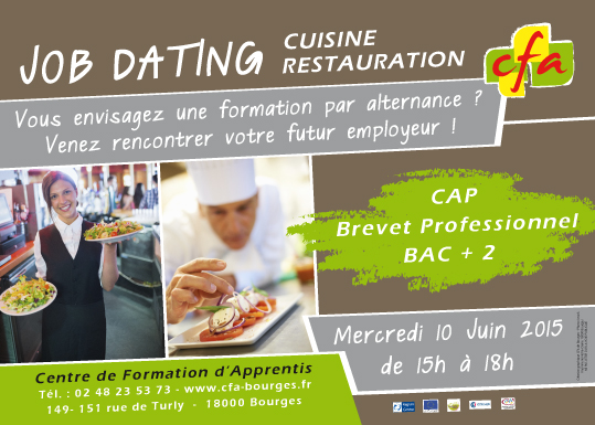 Job dating cfa bourges